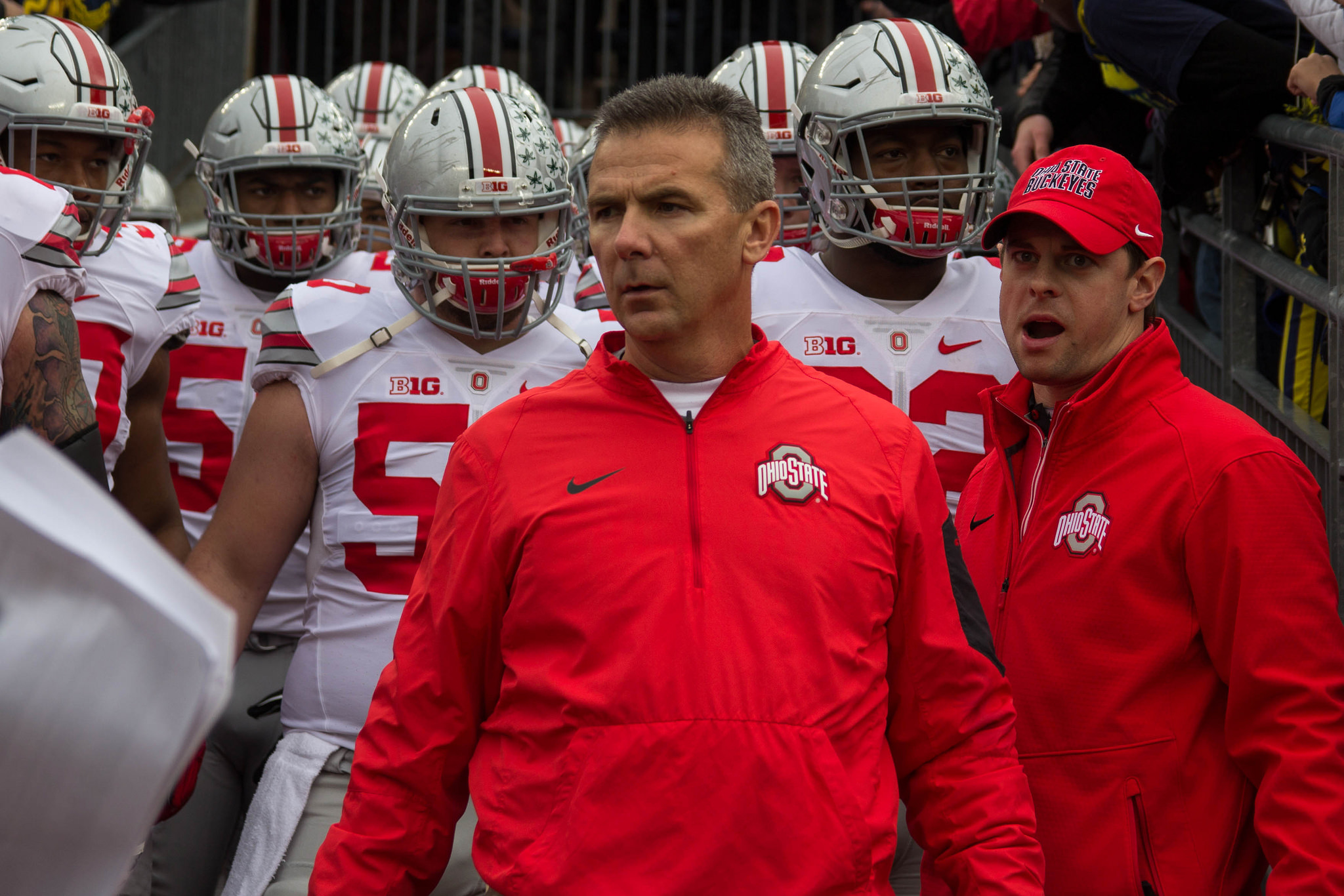 Days after his news conference, Urban Meyer finally apologizes to Courtney Smith
