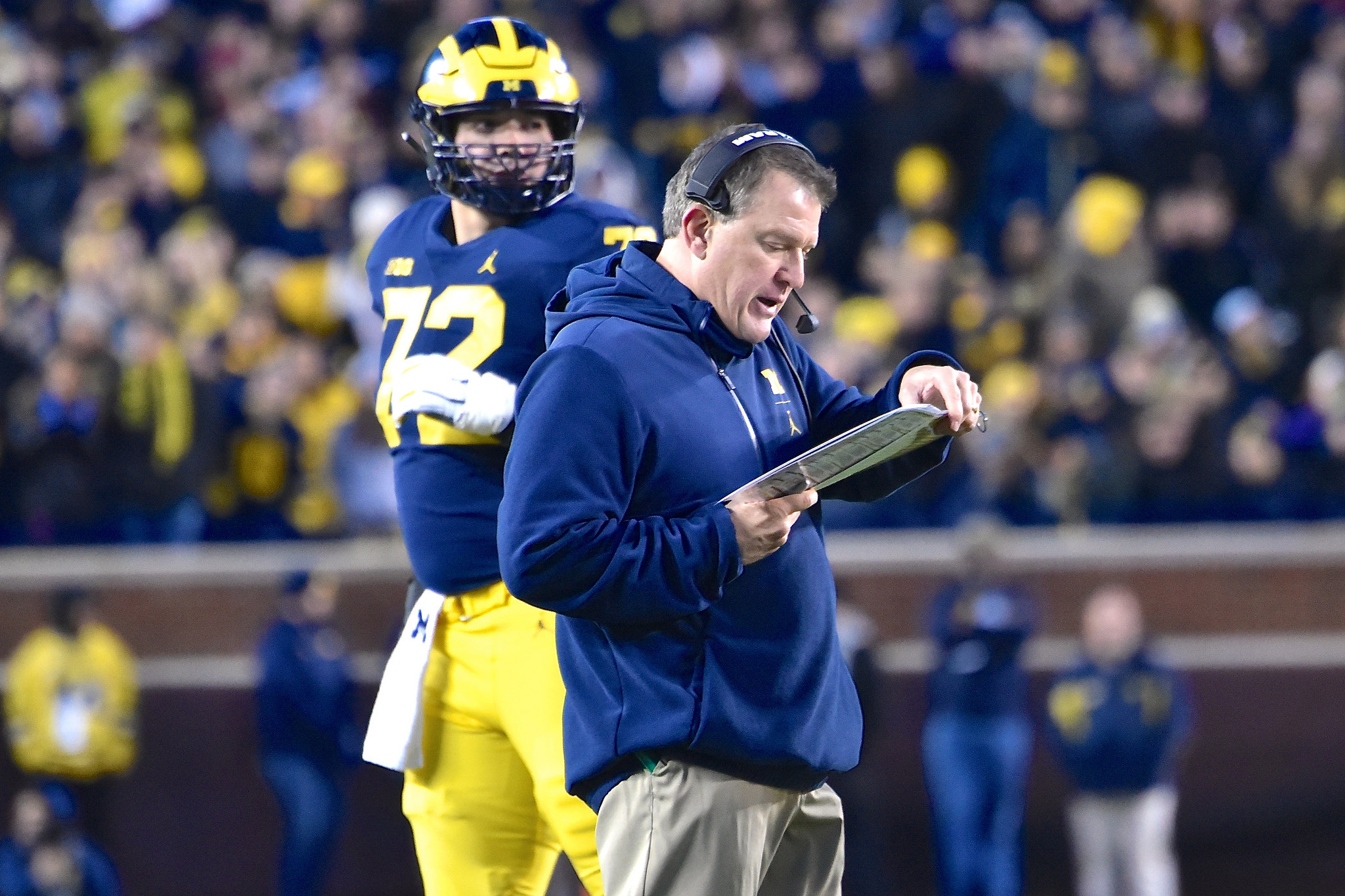 Ed Warinner has turned around Michigan's offensive line