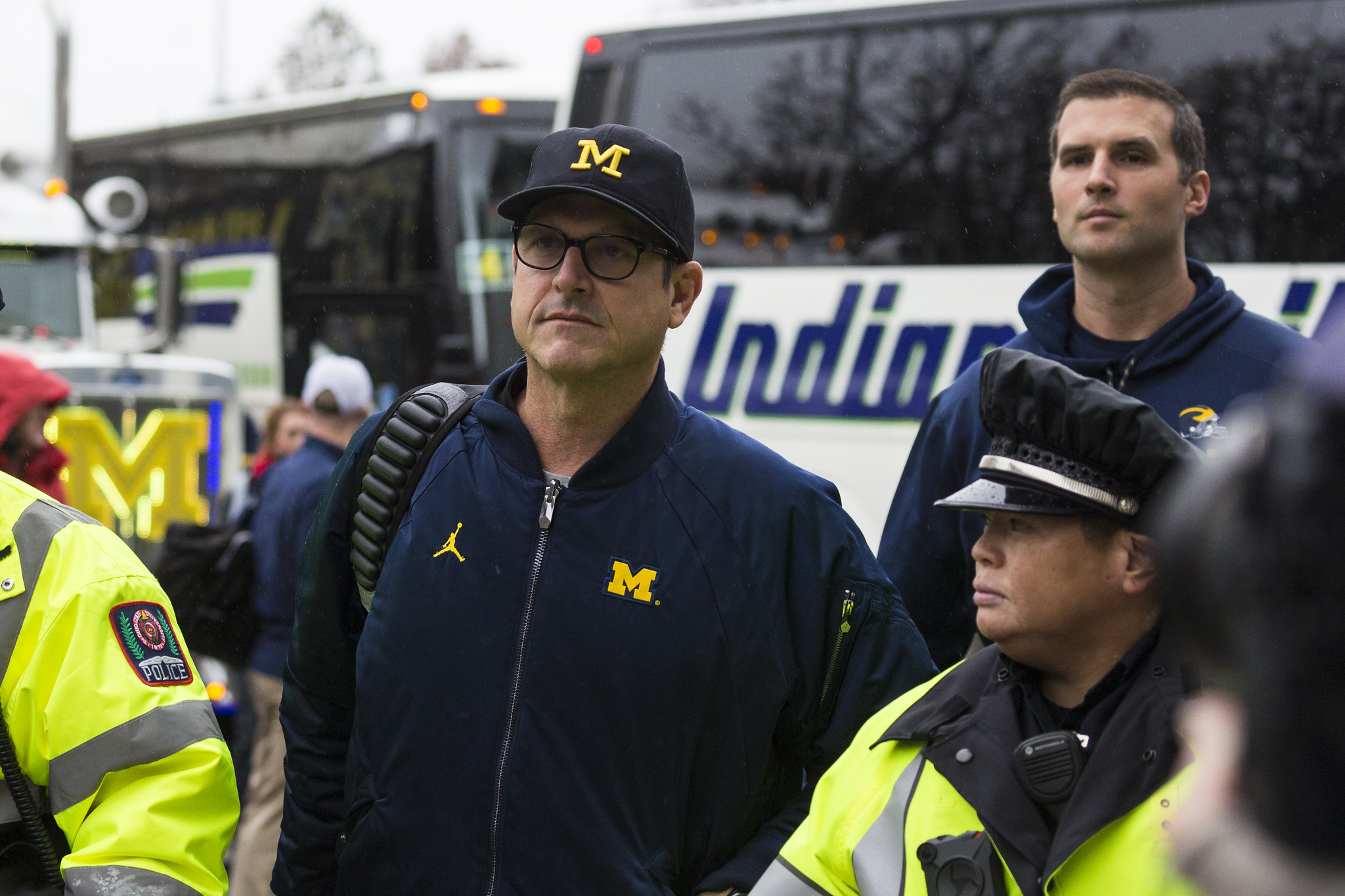 Jim Harbaugh lost his fourth straight edition of The Game on Saturday