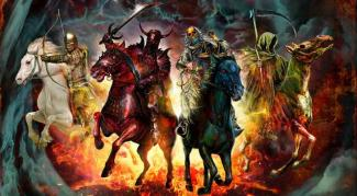 four horsemen by mark wilkinson
