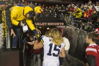 Chase Winovich has given Michigan its identity this season