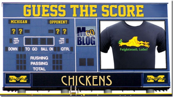 2013-09-03 Guess the Score - Poultry