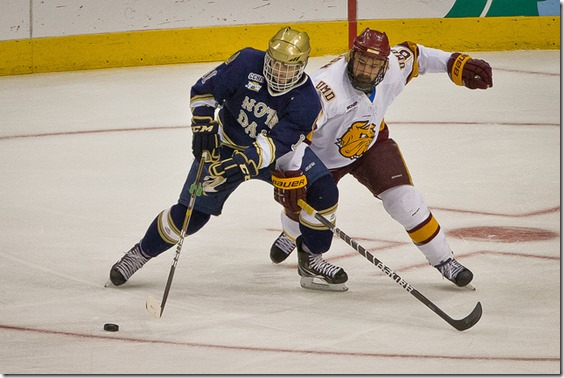 NCAA Frozen Four — Notre Dame Fighting Irish vs. UMD Bulldogs