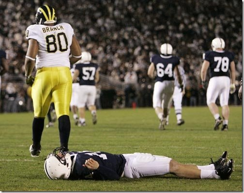 Image result for alan branch penn state hit