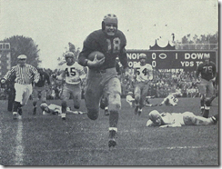 Bump_Elliott_74_yard_touchdown_run,_1947