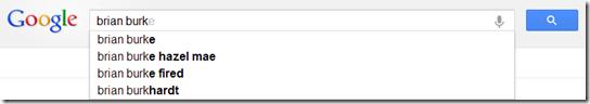 Burke Google Autocomplete