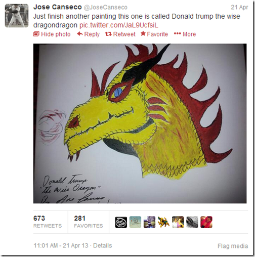 Canseco Trump Dragon