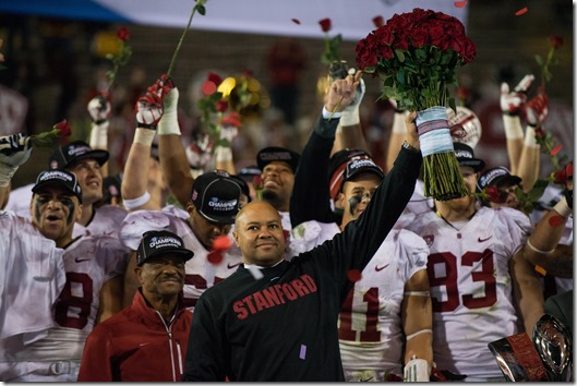 TEMPE, AZ - The Stanford Cardinal defeated the Arizona State Sun Devils to win the 2013 PAC-12 Championship and a berth to the 100th Rose Bowl Game, held in Pasadena, CA.