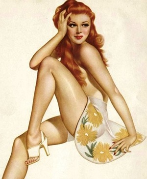 Lady Luck - Pin Up