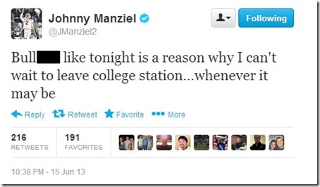 Manziel College Station