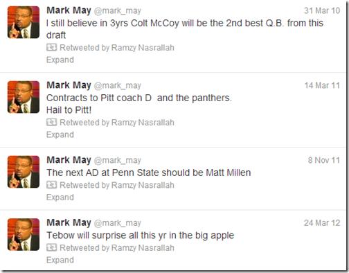Mark May is Wrong