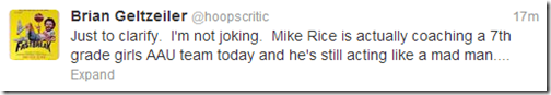 Mike Rice Redux 2
