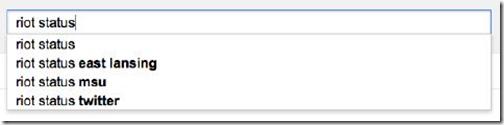 Riots Google