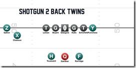 Shotgun 2 Back twins