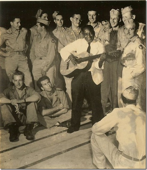 98th Bomber Group - entertained in British Guiana