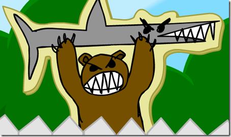 bearholdingshark