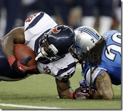 APTOPIX Texans Lions Football