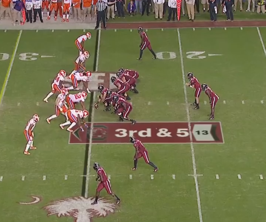 Fee Fi Foe Film South Carolina Offense Mgoblog