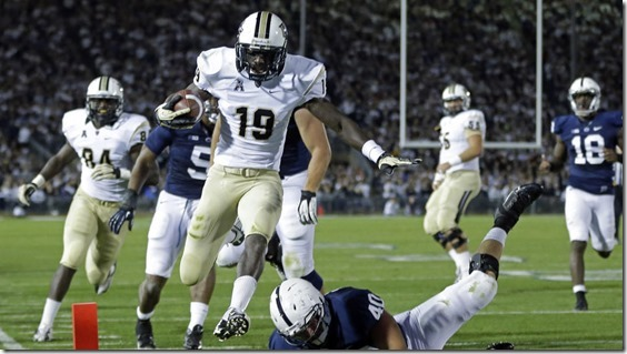 UCF Penn State Football