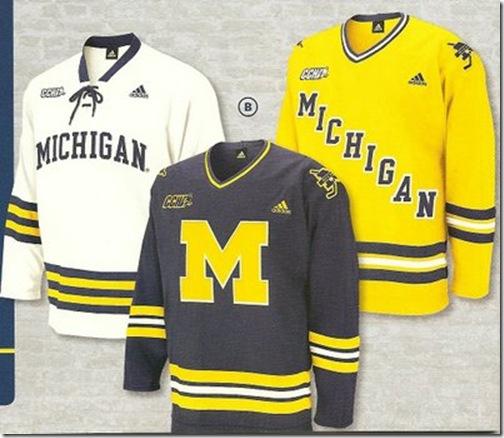 MichiganHockeyJerseys2008-09