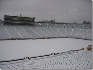 snow at the bighouse
