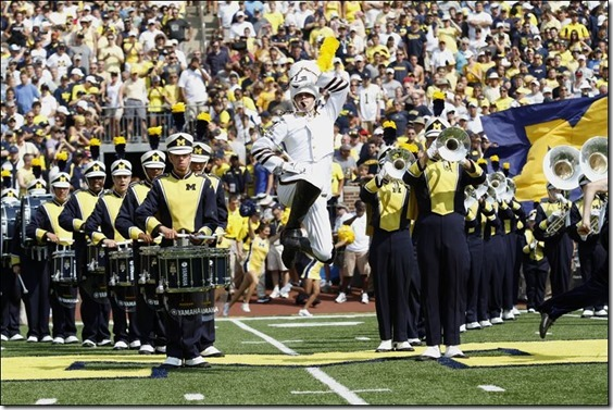Michigan-band-walks-onto-the-field-Jeffrey-McMahon[1]