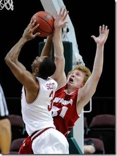 Wisconsin Arkansas Basketball