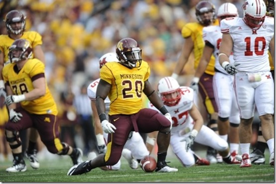 2011 University of Minnesota hosts Miami Ohio Football