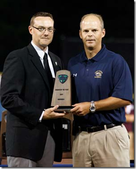 May 24th, 2011; Chillicothe, OH, USA; The Mid-American Conference prepares for its 2011 Baseball Tournament with a dinner and awards ceremony for the eight teams in its annual championship tournament.