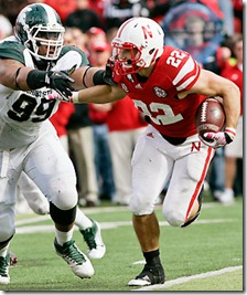 Michigan St Nebraska Football