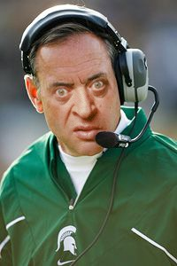 Image result for mark dantonio as rodney dangerfield