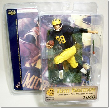 Tom Harmon Michigan pkg