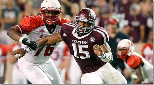 Lamar Texas A&M Football