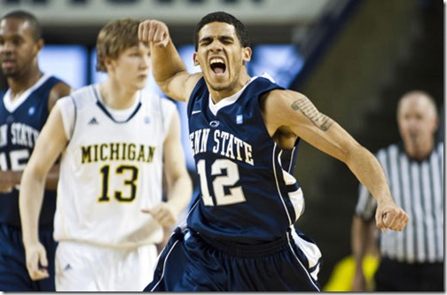 AP Penn St Michigan Basketball