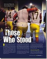 those who stood